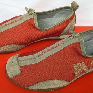 Merrell Barrado J76402 Pull Zip-Up Comfort Sneaker